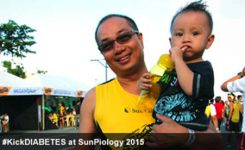 MAN Pharma & TDS #KickDIABETES at SunPiology 2015