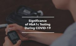 Significance of HbA1c Testing During COVID-19